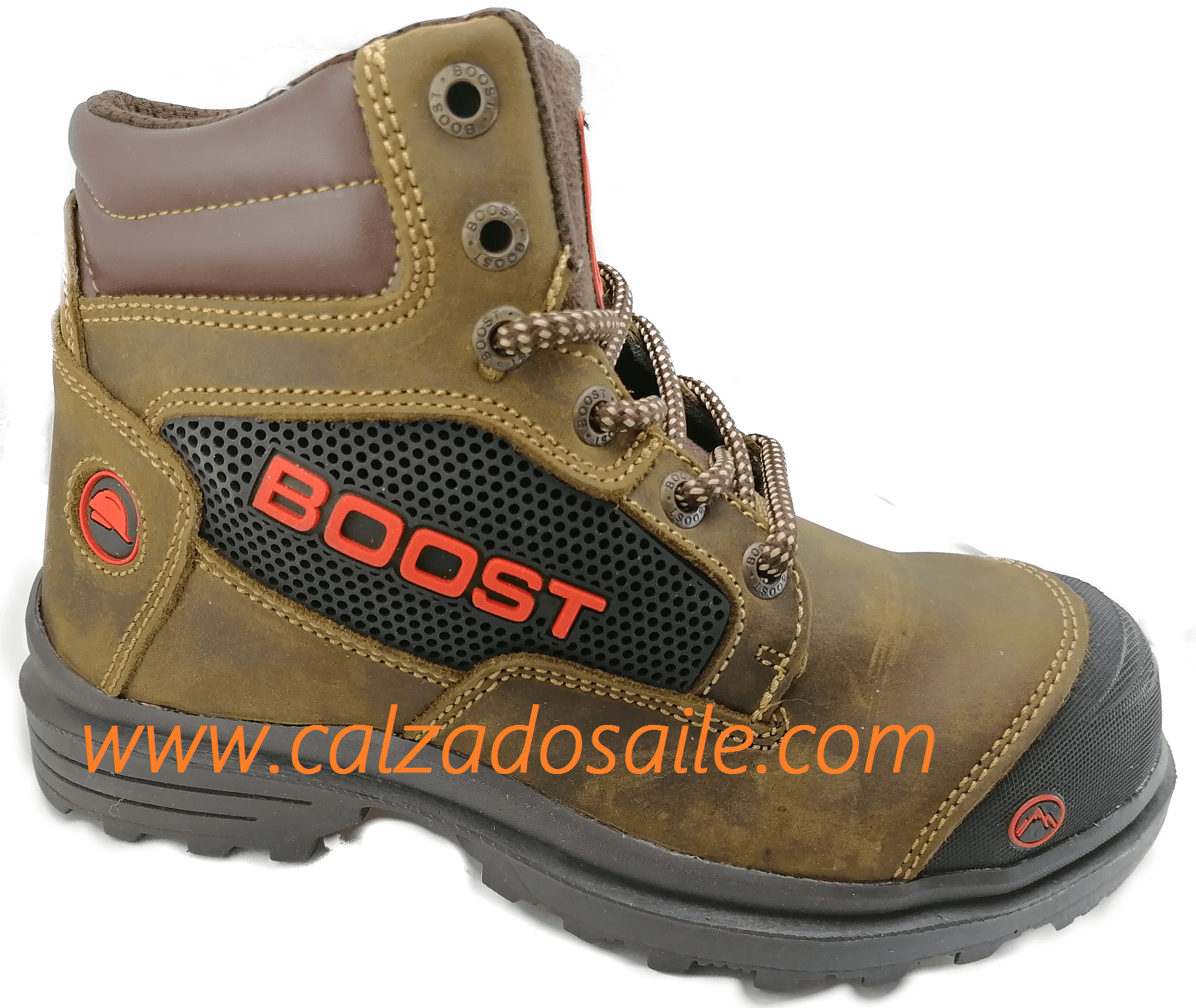 Bota Casco metalico Boss 01